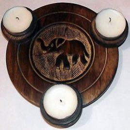 Tealight Holder, Elephant