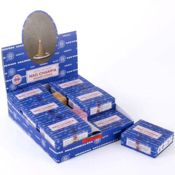 Satya Incense Cones Nag Champa