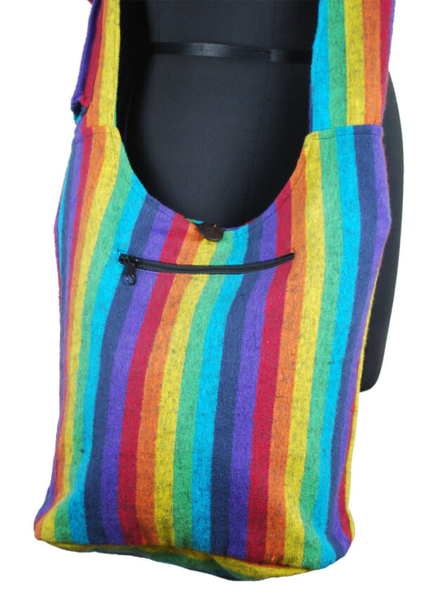 Rainbow Bag with Zip