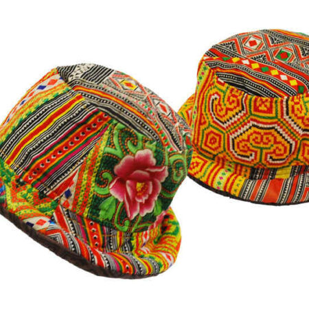 Festival Hat Rim Thai Style Light Colours