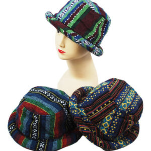 Festival Hat Rim Thai Style Dark Colours