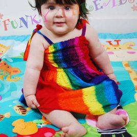 Thai Children's Rainbow Dress