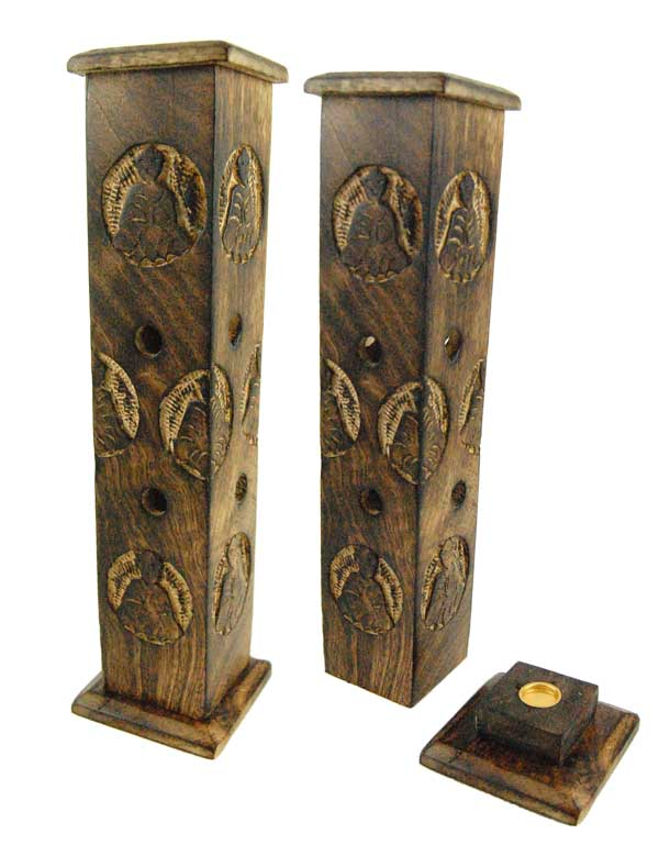 Incense Stick Cone Holders Wooden Upright
