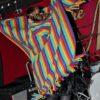 Rainbow Poncho Brushed Cotton Multi Coloured