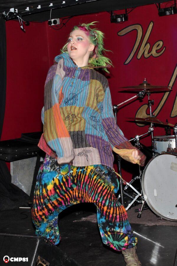 Harems Tie Dye Rainbow Patchwork Hoody