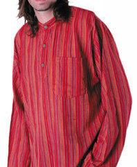 Stripy Shirt Red