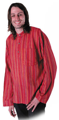 Stripy Shirt Red