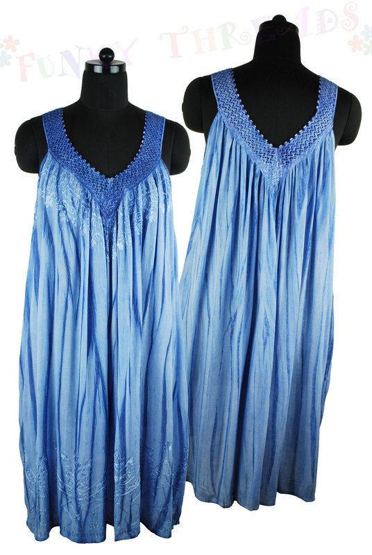 Strappy Sun Dress V Neck