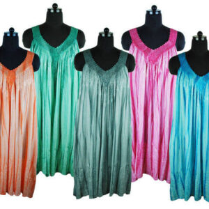 Strappy Sun Dress V Neck Colours