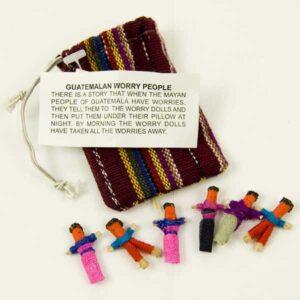 Guatemalan Worry People Dolls Gift