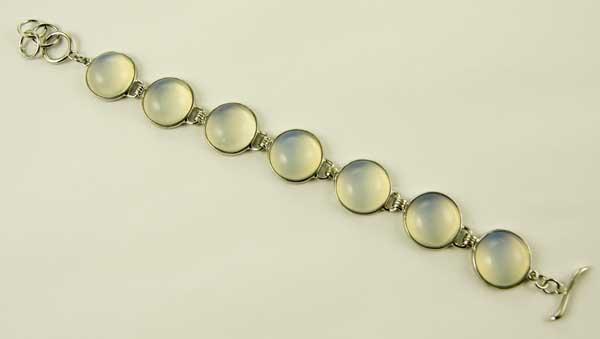 Precious Stone Bracelet Clear Quartz
