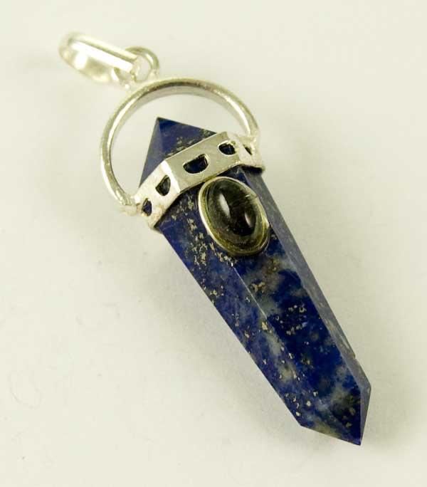 Precious Stone Neckless Point Blue