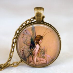 Cabachon Neckless Jewelry Fairy