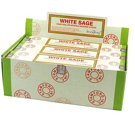 Stamford Incense Sticks White Sage