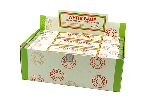 Stamford Incense Sticks White Sage