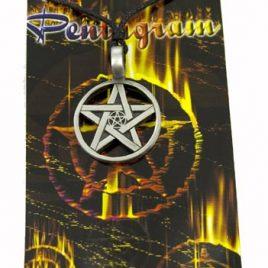 Pendant Pewter Pentagram
