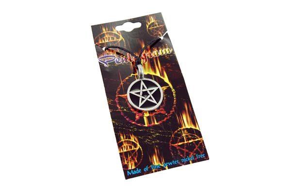 Pewter Pendant Pentagram