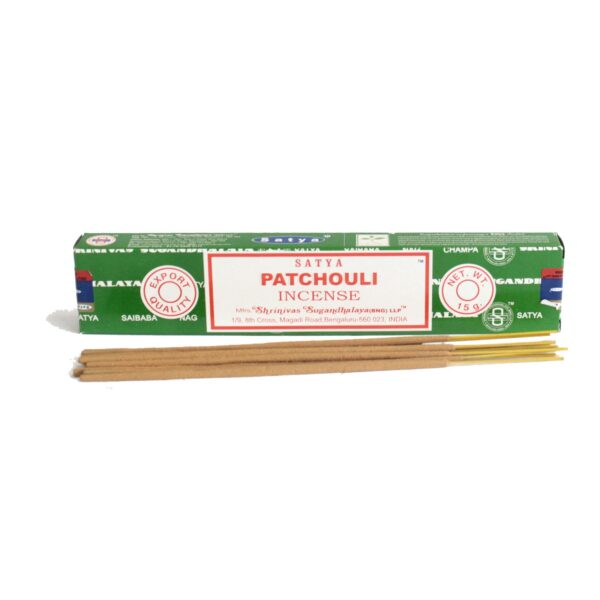 Satya Incense Sticks Patchouli