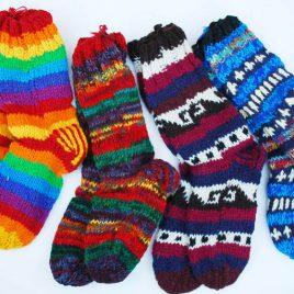 Nepalese Woollen Long Socks