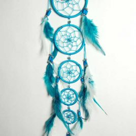 Dream Catcher Turquoise with 5 Circles