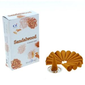 Stamford Incense Cones Sandalwood