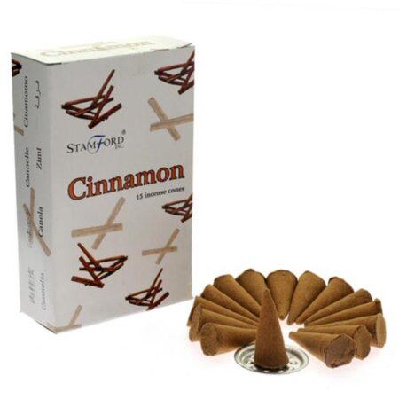 Stamford Incense Cones Cinnamon