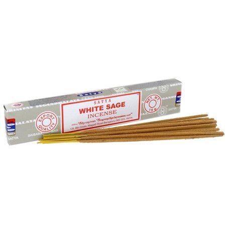 Satya Incense Sticks White Sage