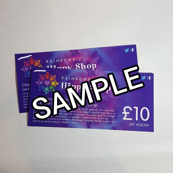 Hippy Shop Mold Gift Vouchers £10