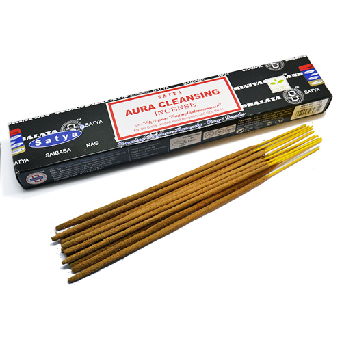 Satya Incense Sticks Aura Cleansing