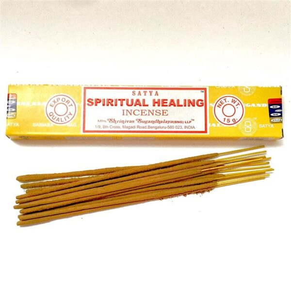 Satya Incense Sticks Spiritual Healing