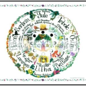 Greeting Gift Card Wheel of the Year