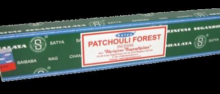 Satya Incense Sticks Patchouli Forest