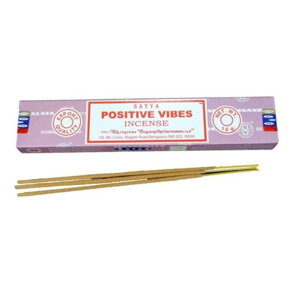 Satya Incense Sticks Positive Vibes