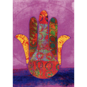 Tree Free Greeting Gift Card Hamsa Blessing