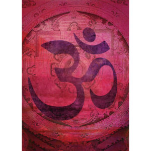 Tree Free Pink Om Greeting Gift Card