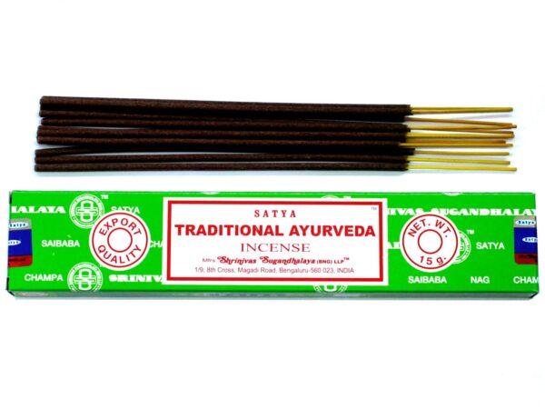 Satya Traditional Ayurveda Incense Sticks