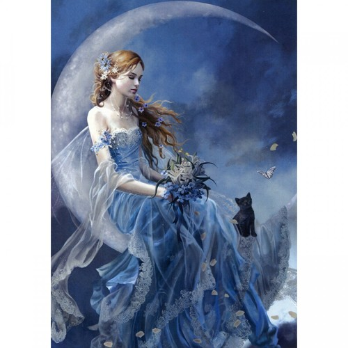 Wind Moon Greeting Gift Card Tree Free