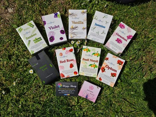 Gift Set Stamford Incense Cones Floral