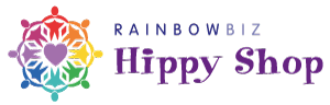 RainbowBiz Hippy Shop Logo