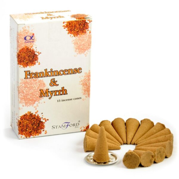 Stamford Incense Cones Frankincense and Myrrh