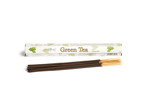 Stamford Incense Sticks Green Tea