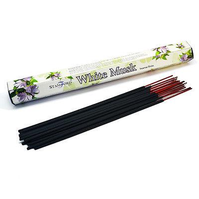 Stamford Incense Sticks White Musk