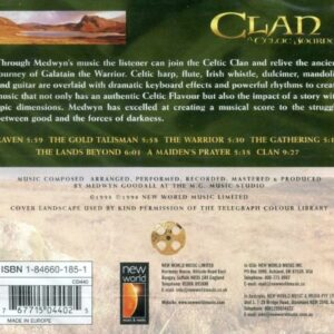 CD Clan A Celtic Journey Medwyn Goodall