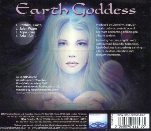 CD Earth Goddess Juliana Llewellyn