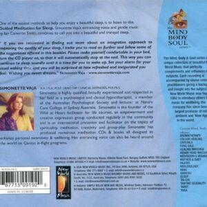 CD Guided Meditation For Sleep Mind Body Soul
