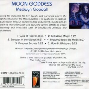 CD Moon Goddess Medwyn Goodall New World Music