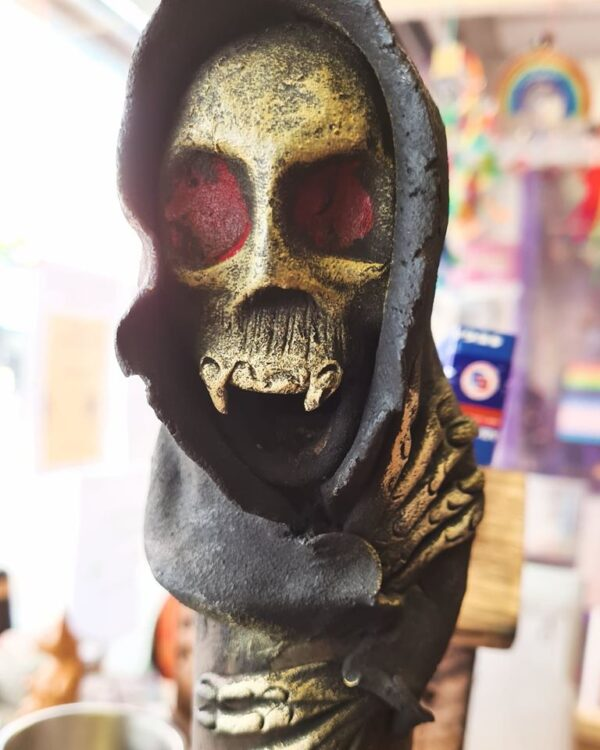 Death Grim Reaper Incense Ashcatcher Black Terry Pratchett Cool
