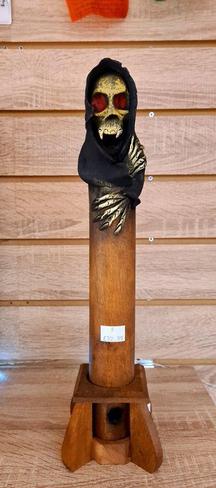 Death Grim Reaper Incense Ashcatcher Black Terry Pratchett