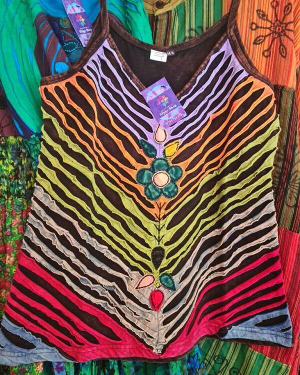 Hippy Vest Rainbow