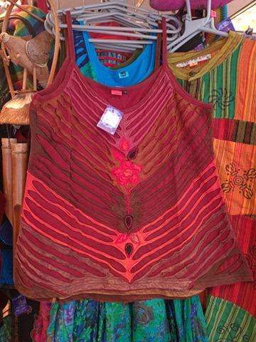 Hippy Vest Red